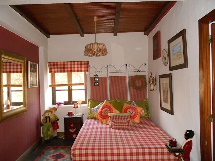 Private Room with fireplace - Vale da Silva Villas
