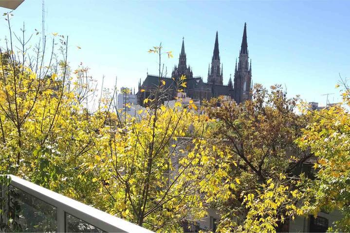 Departamento con vista a la Catedral, 4 personas