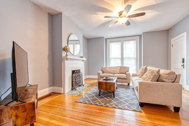 Spacious apartment in the Elmwood Village