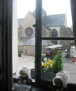Le logis de l'Abbaye de Paimpont en Brocéliande - Paimpont