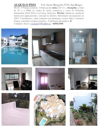 Santa Margarita  ca. Gibraltar, Playa, Sotogrande - San Roque - Apartment