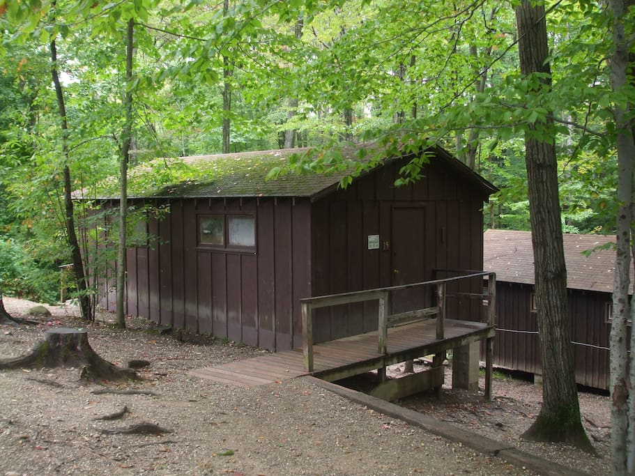 Rustic Cabin Cabins For Rent In Windsor Ohio United States
