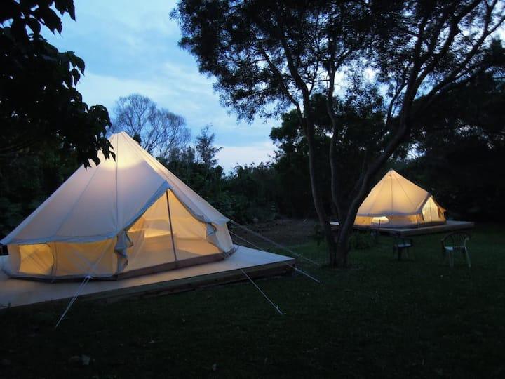 [6mins car->Miyako Airport]1 room Glamping Tent