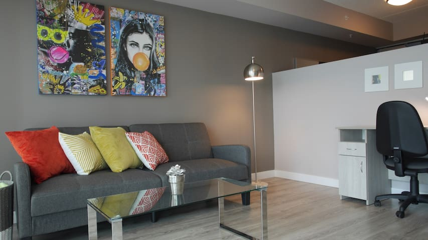 NEW MODERN 1BDR CONDO WATERLOO