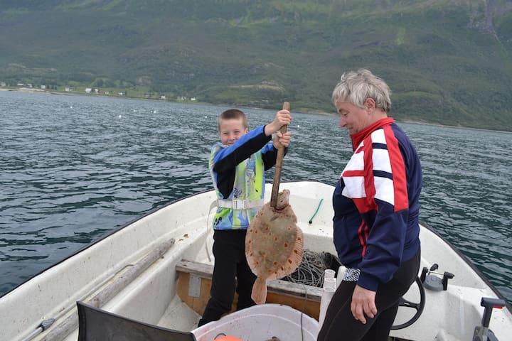 Baarlund hytter å fiskecamp