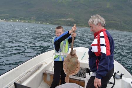 Baarlund hytter å fiskecamp - Huis