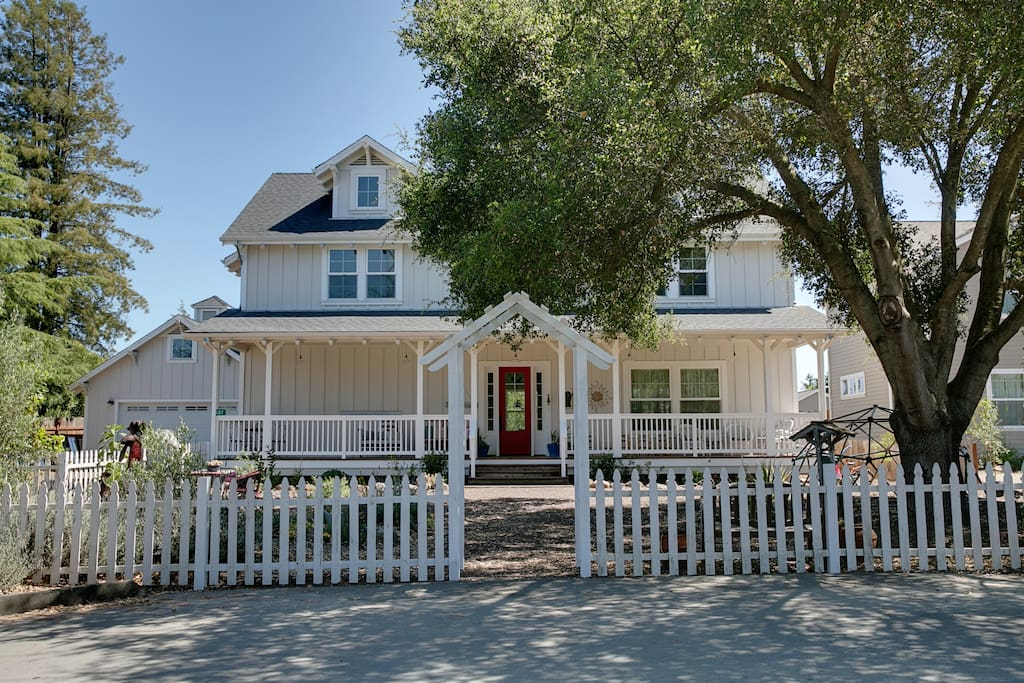 Our wine country farmhouse