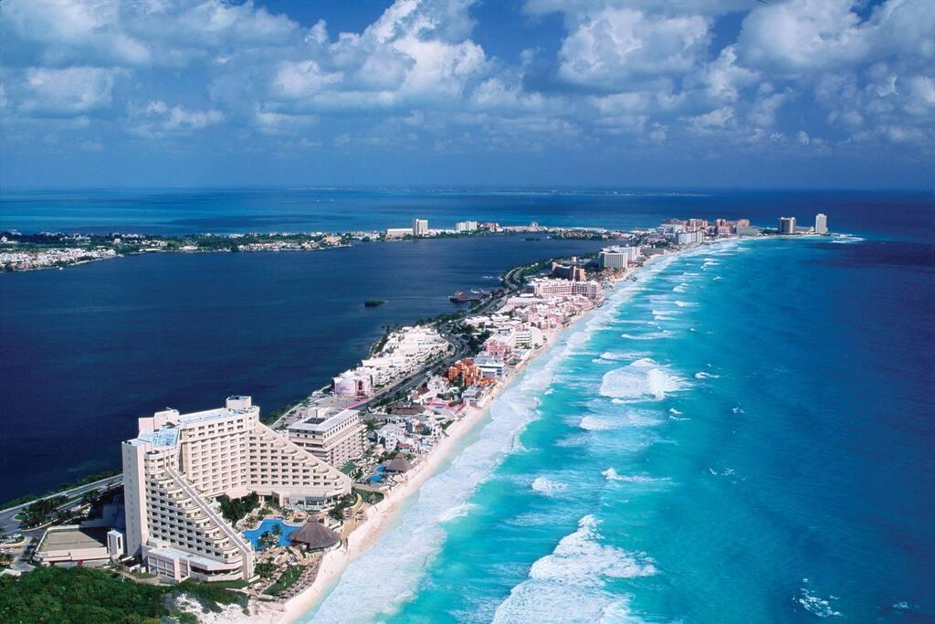 Cancun, el paraiso, ven a visitarnos.
