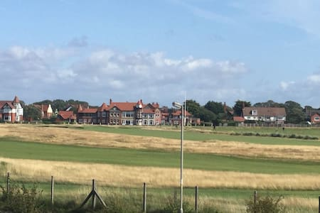 Golfers delight! Executive apartment view of RLGC.
