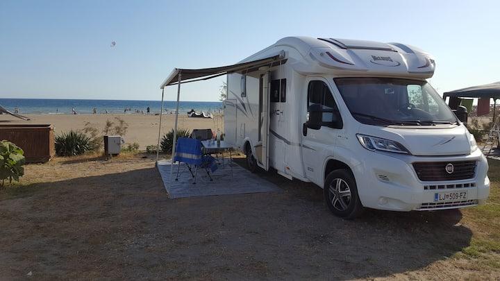 Camper Motorhome  RV rental Slovenia