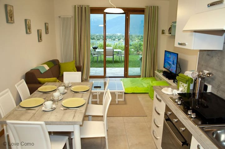 The Garden Flat perfect for families - Gera Lario  - Leilighet