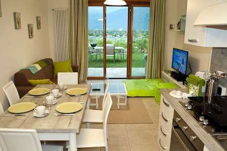 The Garden Flat perfect for families - Gera Lario  - Byt