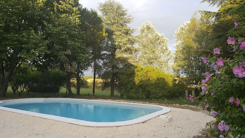 Family house in the Dordogne with swimming pool - La Tour-Blanche - บ้าน