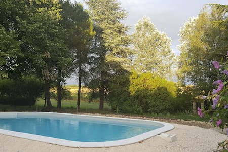 Family house in the Dordogne with swimming pool - La Tour-Blanche - 独立屋