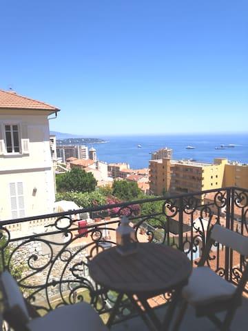 Vue Calme Confort Beausoleil proximité  Monaco/ 4p