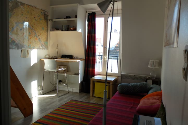 Studio clair quartier Catacombes - Paris - Flat