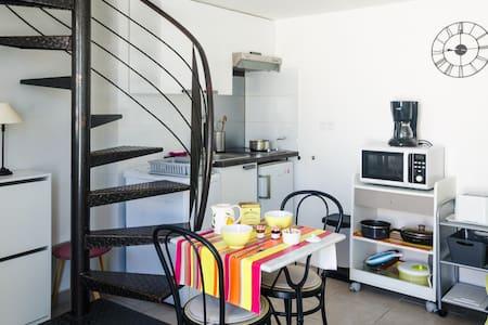 Studio/duplex près Montpellier/mer+CLIM