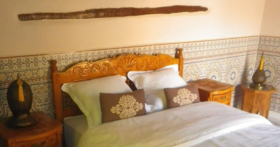 Chambre double de charme à la campagne - Ouirgane - Pension