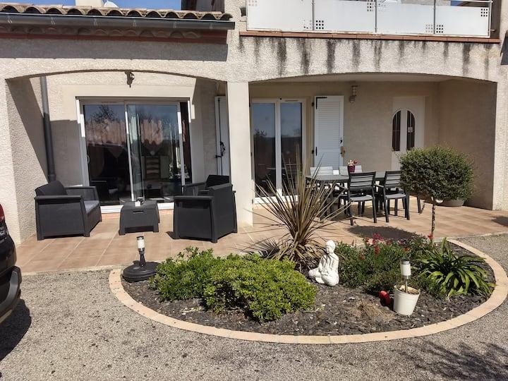 Villa de l'olivier avec jacuzzi
