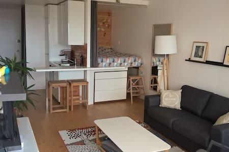 Appartement 31m² - Face mer, refait à neuf! Plage. - Saint-Jean-de-Monts - Lejlighed
