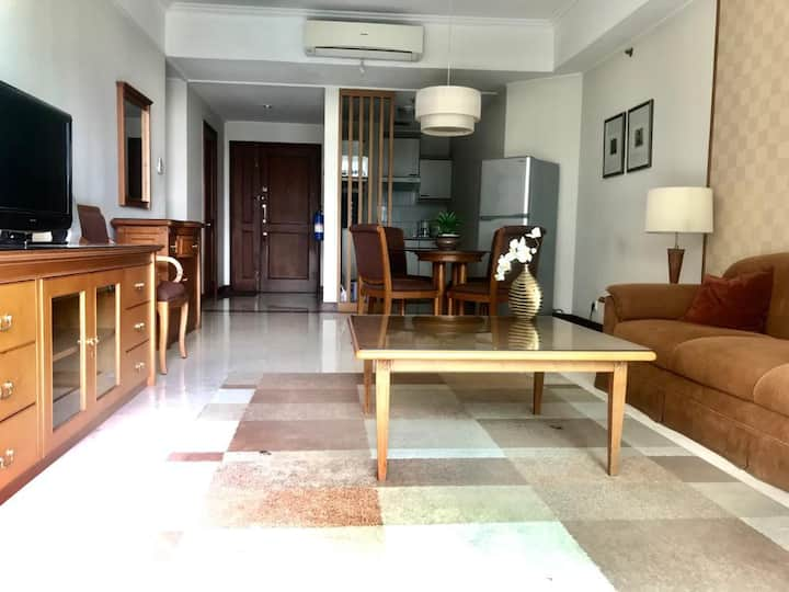 Homey and Spacious 1 Bedroom apartmen in South JKT