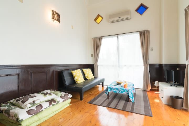 ☆Close to the sea! Hawaiian style condo☆ 3F corner - Kunigami-gun - Apartment