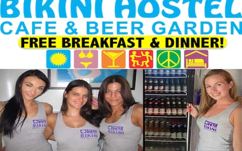 Bikini Hostel - Meals Included (4 Bed Female Dorm)
