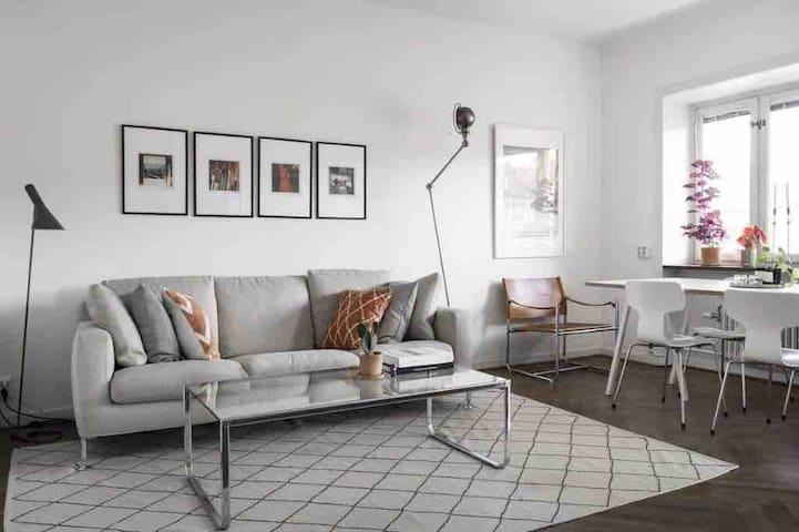 Cozy, Fully furnished flat in Vasastan, Stockholm