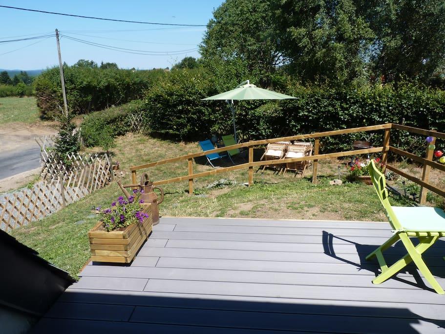 Terrasse - jardin