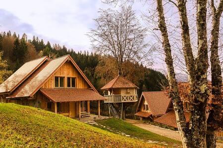 CASA SULL' ALBERO - Povolaro - Baumhaus