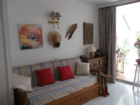 Acogedor apartamento Costa del Silencio
