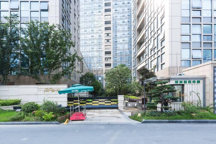 萧山奥体中心近距离爱住美寓二居室自助式入住