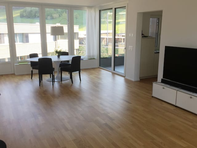 Brand new, bright and spacious city-apartment - Köniz - Apartment