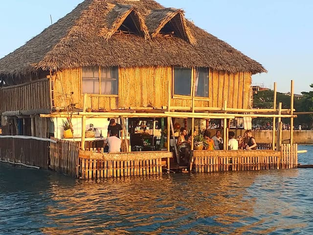 Floating Bar, Restaurant and Rooms Zanzibar