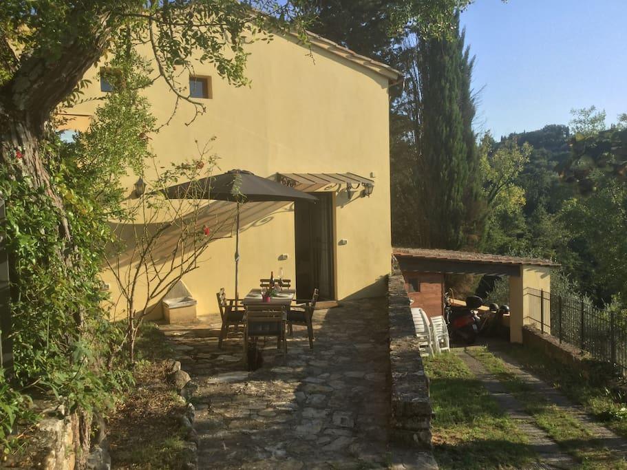 Toscana chianti relax a 2 passi da firenze suite degli - Magazzino della piastrella e del bagno firenze fi ...