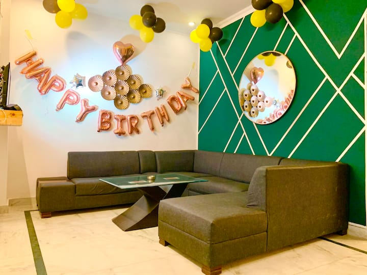 6.Morden interiors celebration, 3BHK  Relax place