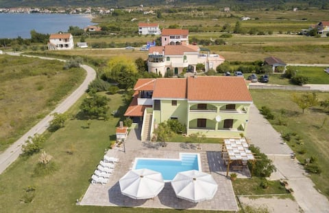 Apartment Bruna with Pool for 3 persons, sea view