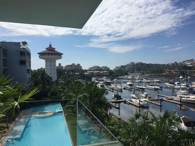 Luxury Apartment with beautiful view! - Zihuatanejo - 아파트