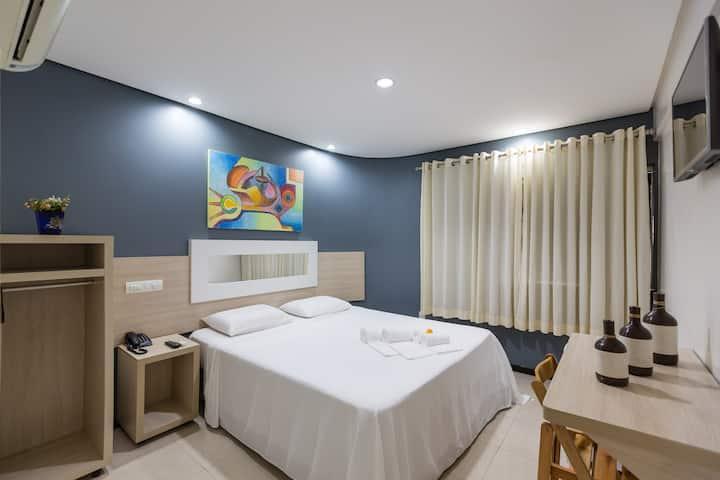 Apartamento dentro de hotel no centro de Eunapolis