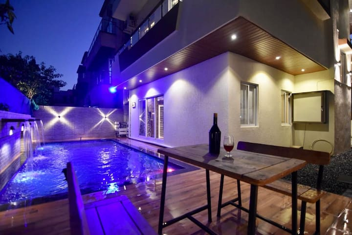 EKO STAY | 4BHK Villa with Pvt Pool and Games room