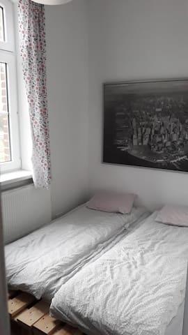 sypialnia mała parter