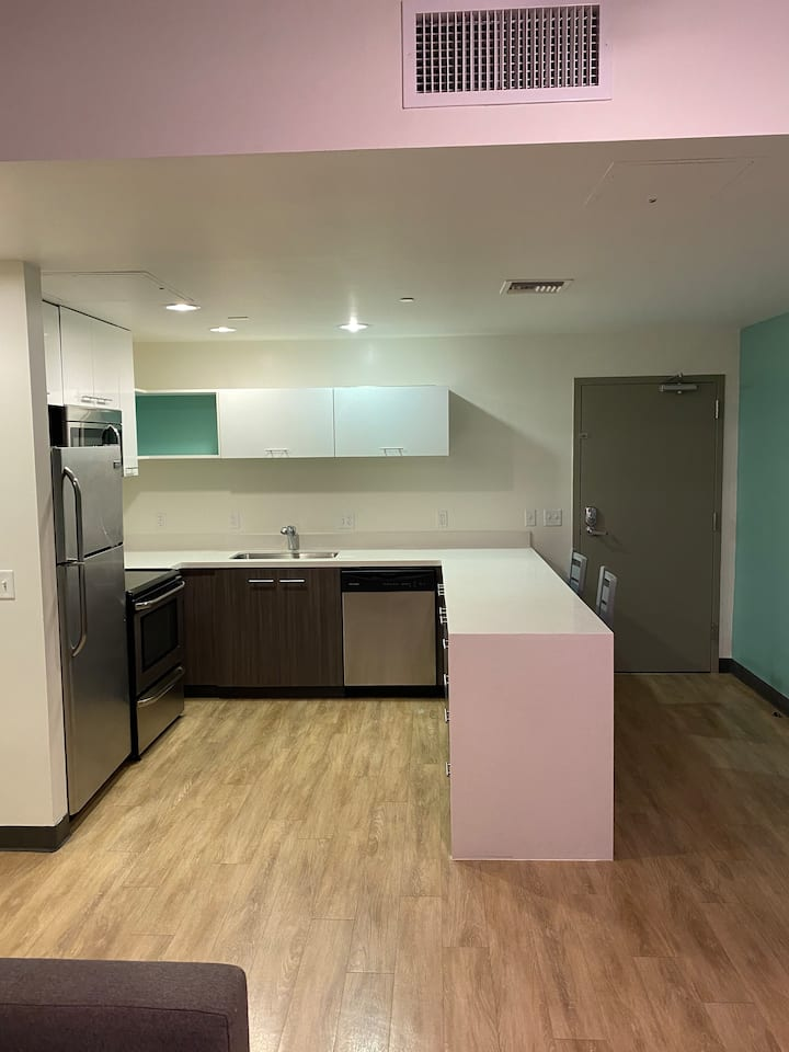 Entire 2 Bedroom Suite in Condo by University.