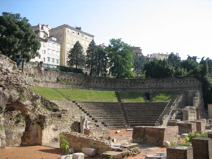 At the Roman Theater-NEW-in city center