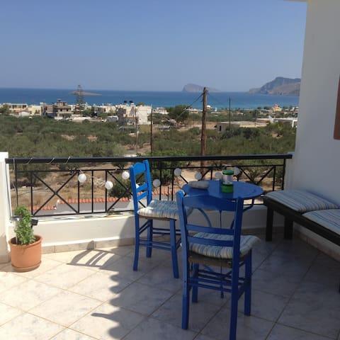 Relaxing on Crete - Pachia Ammos - Huis