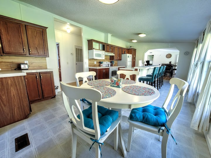 SAVE IN APRIL ~ BRAND NEW! Cozy Creekside Retreat