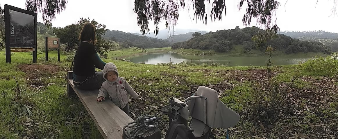 """Nearby is a great private reserve called """"Aguas Claras"""" where there is a 8 km hiking loop."""