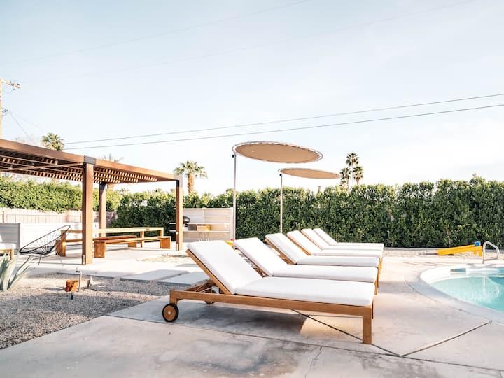 Relax Poolside at The Roseta, a Desert Getaway