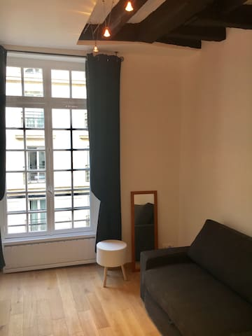 Cosy and private studio in Marais