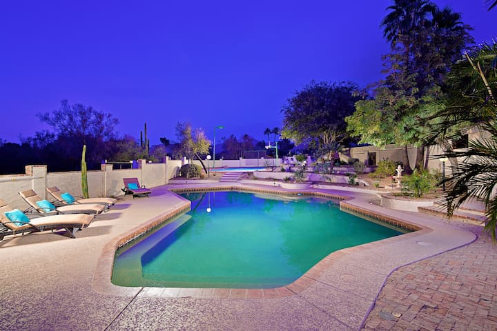 Private Theater Room, Sports Court, Heated Pool