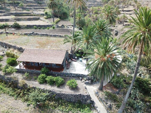 Casa rural con piscina privada en Alojera